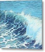 Ocean's Might Metal Print