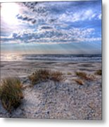 Ocracoke Winter Dunes II Metal Print by Dan Carmichael