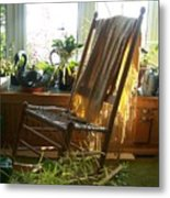 Off My Rocker - Photograph Metal Print
