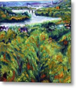 Ohio River From Ayers-limestone Road Metal Print