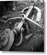 Old Anchor Metal Print