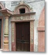 Old Austrian Door Metal Print