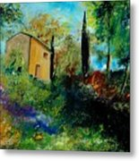Old Barn In Provence  Metal Print