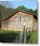 Old Barn In Tennessee Metal Print