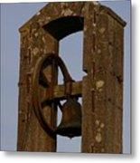 Old Bell Metal Print