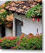 Old Buildings In Puerto Vallarta Mexico Metal Print
