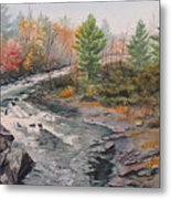 Old Burleigh Stream Metal Print