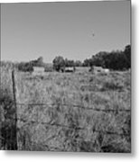 Old Colorado Farm Metal Print