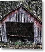 Old Dave's Front Barn Metal Print
