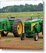 Old Deere Metal Print