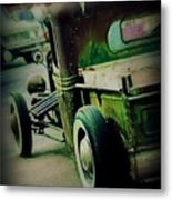 Old Drive Metal Print by Perry Webster