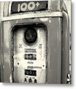 Old Gas Pump Metal Print