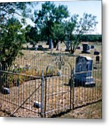 Old Grave Site 2 Metal Print