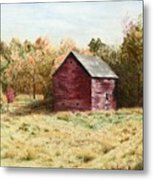 Old Homestead Barn Metal Print