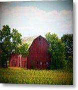 Old Indiana Barn Metal Print by Joyce Kimble Smith