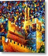 Old Jerusalem Metal Print by Leonid Afremov