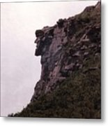 Old Man Of The Mountain Metal Print by Wayne Toutaint