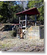 Old Mill Of Guilford Pumphouse Metal Print