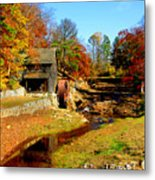 Old Mill Metal Print
