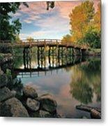Old North Bridge Metal Print by Rick Berk
