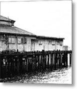 Old Pier Metal Print