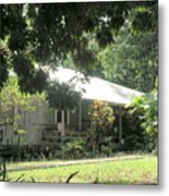 Old Plantation House Metal Print