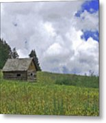 Old Ranchers Summer Cabin Redone Metal Print