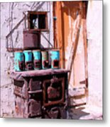 Old Soldier Metal Print