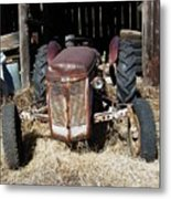 Old Tractor 4 Metal Print