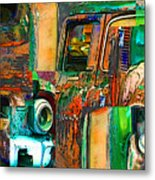 Old Trucks Metal Print