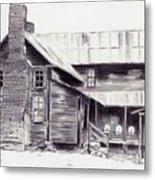 Old Willard Home Metal Print by Penny Everhart