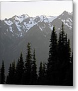 Olympic Mountains Metal Print