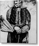 On Kiowa Reservation Metal Print