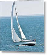 On The Bay Metal Print