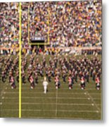 On The Field Metal Print by David Bearden