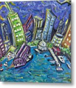 On The Hudson Metal Print