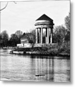 On The Lake At Fdr Park Metal Print