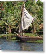 On The Nile Metal Print