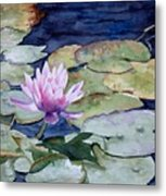 On The Pond Metal Print by Bobbi Price
