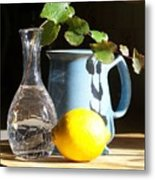 On The Table 2 - Photograph Metal Print