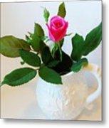 One Sweet Rose Metal Print