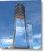 One World Trade Metal Print