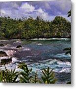 Onomea Bay Hawaii Metal Print