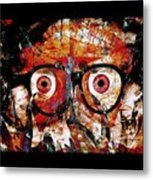 Open The Eyes To The Mind Frames And The Missing Link Metal Print