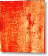 Orange No 34 Metal Print