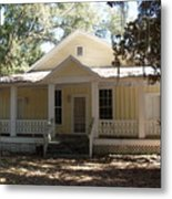 Orange Springs Historic Home Metal Print
