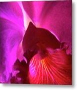 Orchid Landscape Metal Print