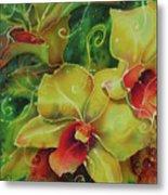 Orchid Series 11 Metal Print