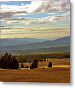 Oregon - Land Of The Setting Sun Metal Print