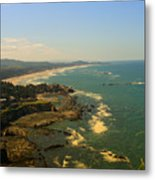 Oregon Coast Oo61 Metal Print